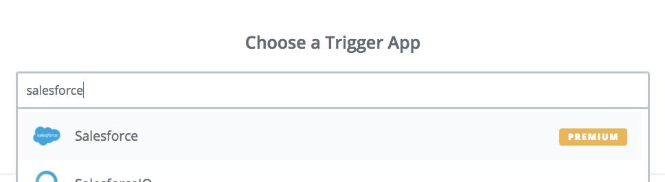 Salesforce.com and RedCappi Integration through Zapier