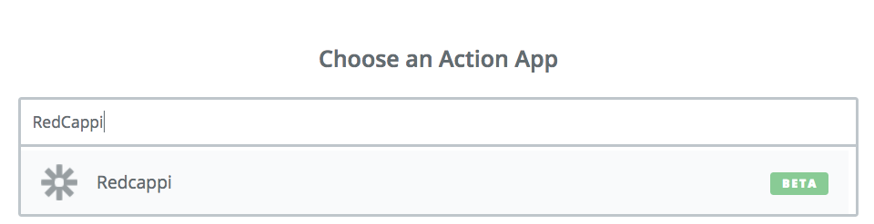 Choose RedCappi