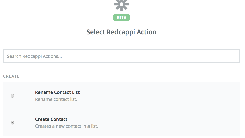 RedCappi Create Contact Image